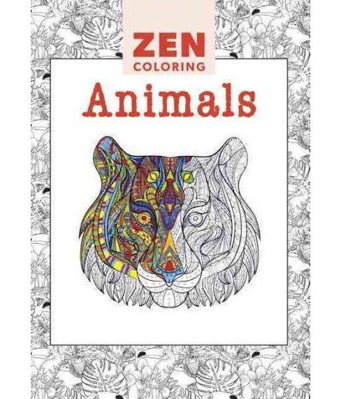 Animals Adult Coloring Book - image 1 of 1