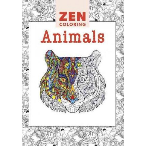 Animals Adult Coloring Book Target