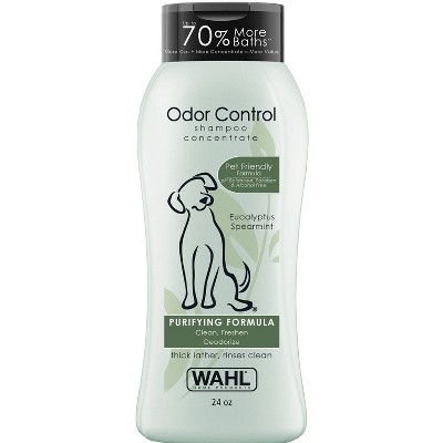 Wahl Odor Control Purifying Formula Eucalyptus Spearmint Pet Shampoo Concentrate - 24oz