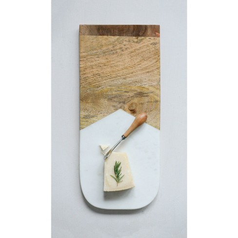 Cutting Board Wood / Marble - 3R Studios - image 1 of 2