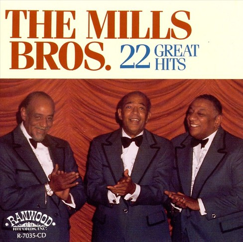 Mills brothers - 22 great hits (CD) - image 1 of 1
