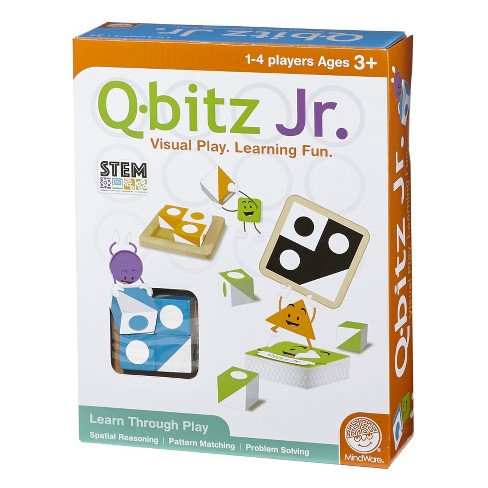 MindWare Q-bitz Jr. Game - image 1 of 3