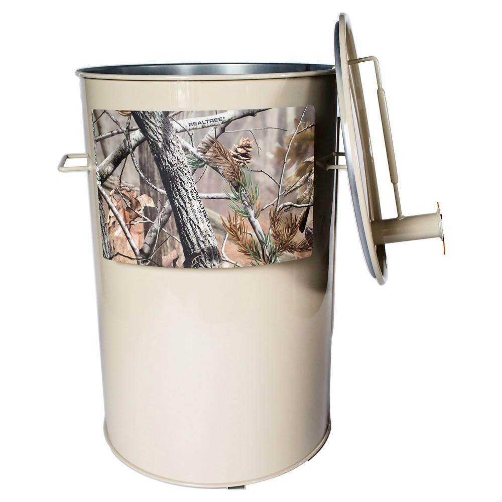 Image of Gateway Drum Smoker 55 Gallon-Cream, Antler