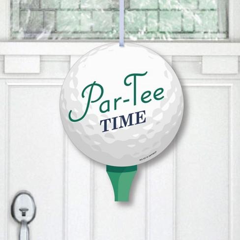 Big Dot Of Happiness Par Tee Time, Golf Outdoor Decor