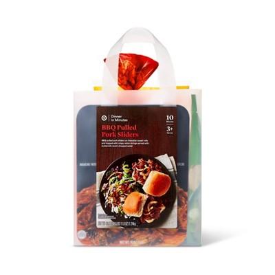 BBQ Pulled Pork Sliders Meal Bag - 48oz