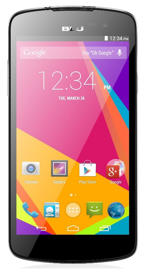 BLU Studio X Plus D770u Factory GSM Quad-Core HSPA+ (Unlocked) - Black - image 1 of 2