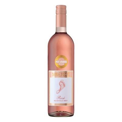 Barefoot Cellars Rose Wine - 750ml Bottle