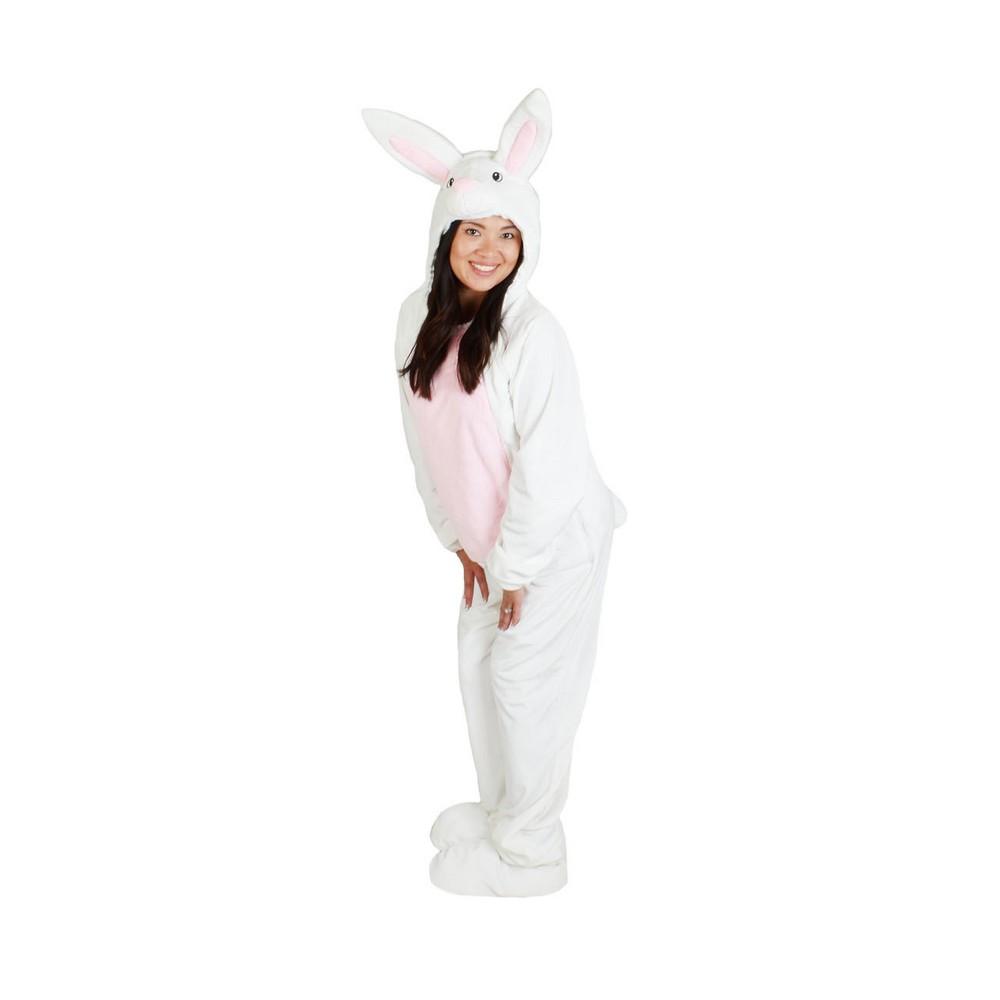 Adult Bunny Costume White L - Spritz, Adult Unisex