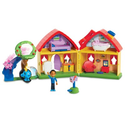 Blue's Clues & You! Blue's House Playset - 13pc