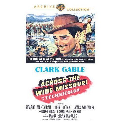 Across The Wide Missouri (DVD) - image 1 of 1