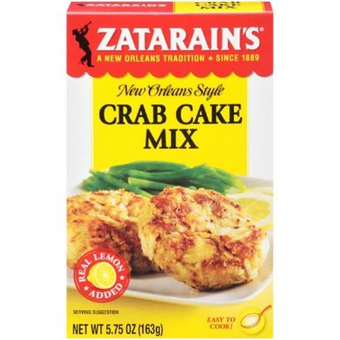Zatarain's® New Orlean's Style Crab Cake Mix - 5.75oz - image 1 of 4