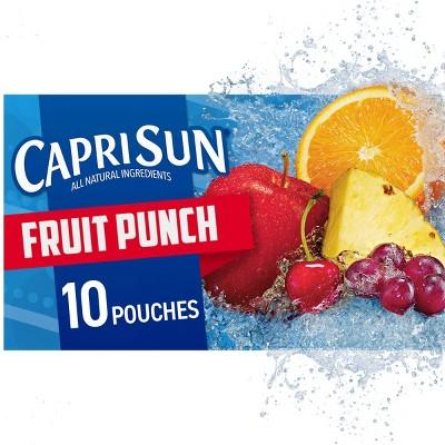 Capri Sun Fruit Punch - 60fl oz/10pk