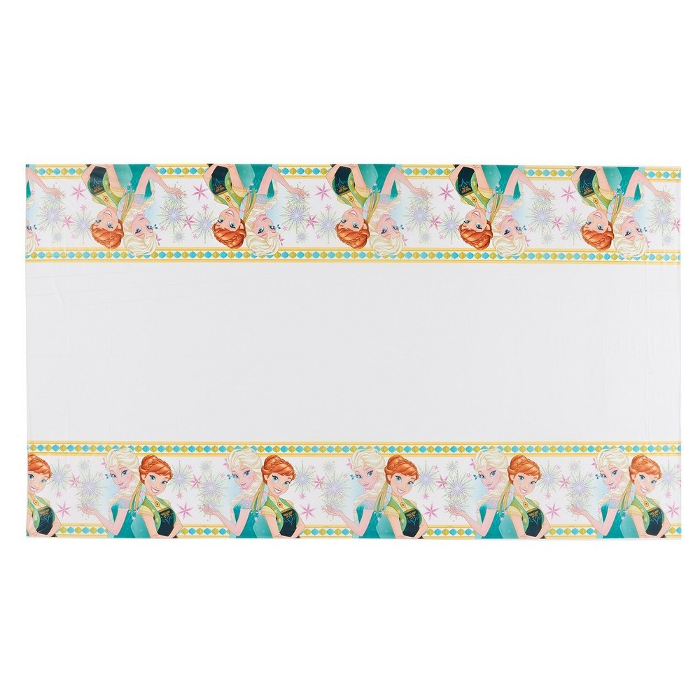 "Image of ""Frozen Fever Plastic Table Cover 5 """" X 9 """""""