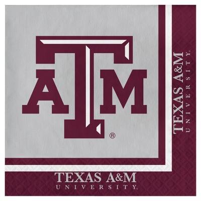 20ct Texas A&M Aggies Napkins - NCAA