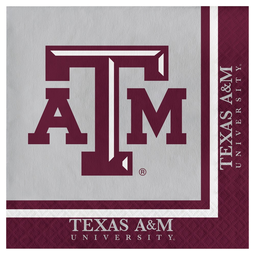 Image of 20ct Texas A&m Aggies Napkins