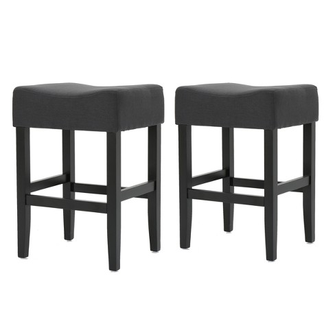Excellent Set Of 2 Portman Backless Counter Stools Dark Charcoal Christopher Knight Home Forskolin Free Trial Chair Design Images Forskolin Free Trialorg