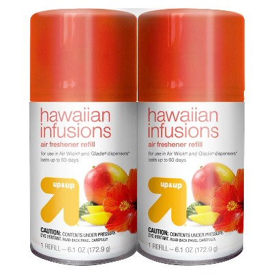 Auto Air Freshener Refill Hawaiian Infusions Scent 2 ct 6.1 oz - Up&Up™