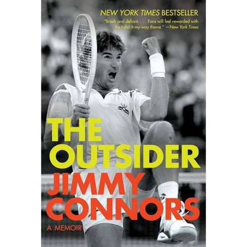 The Outsider - by  Jimmy Connors (Paperback) - image 1 of 1
