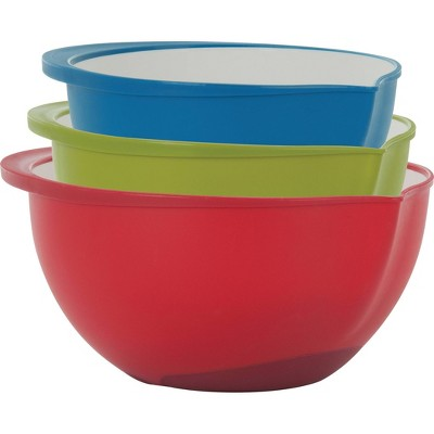 Trudeau Set of 3 Two-Tone Mixing Bowls