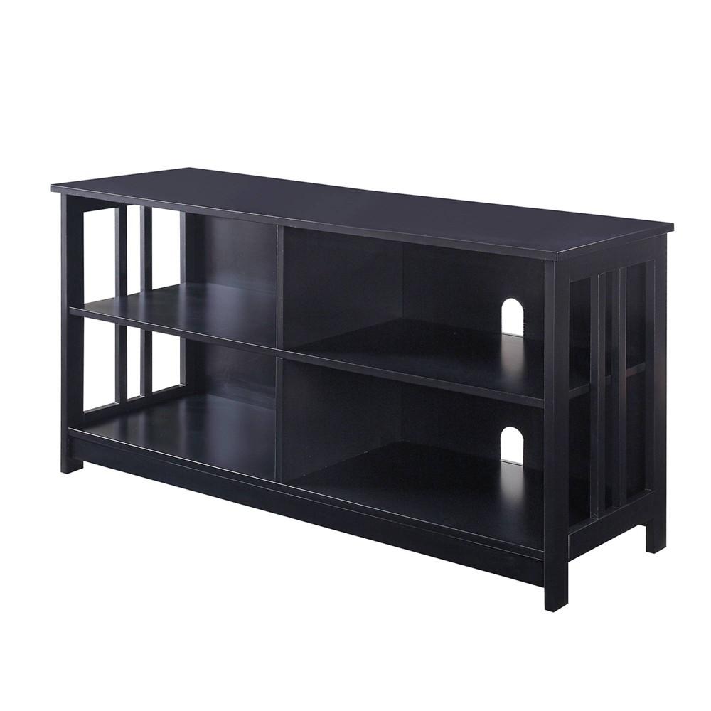 Mission TV Stand Black - Johar Furniture Mission TV Stand Black - Johar Furniture