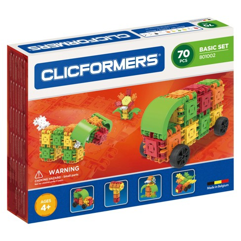 Clicformers Basic Building Set - 70pc - image 1 of 7