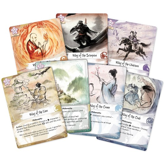 Fantasy Flight Games Legend of the Five Rings LCG Core Set image number null