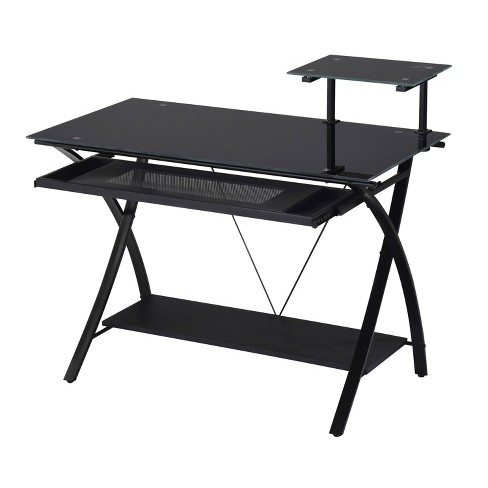 Computer Desk Black - Acme Furniture - image 1 of 3
