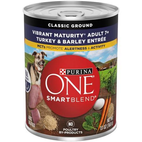 Purina ONE SmartBlend Vibrant Maturity 7+ Senior Wet Dog Food - 13oz - image 1 of 3