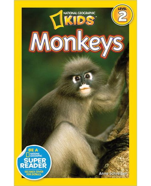 Monkeys (Paperback) by Anne Schreiber - image 1 of 1
