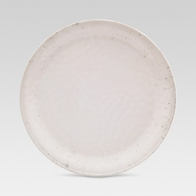 Dinner Plate 10.5 x10.5  Melamine White - Threshold™