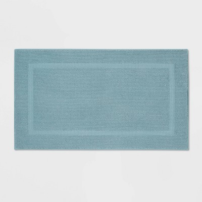 Performance Texture Cotton Memory Foam Bath Rug - Threshold™