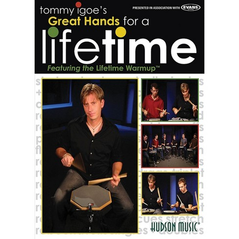 Hudson Music Tommy Igoe's Great Hands for a Lifetime DVD - image 1 of 1