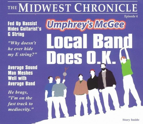 Umphrey's mcgee - Local band does o k (CD) - image 1 of 1