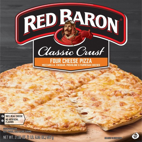 Red Baron Classic Four Cheese Frozen Pizza - 21.06oz - image 1 of 4