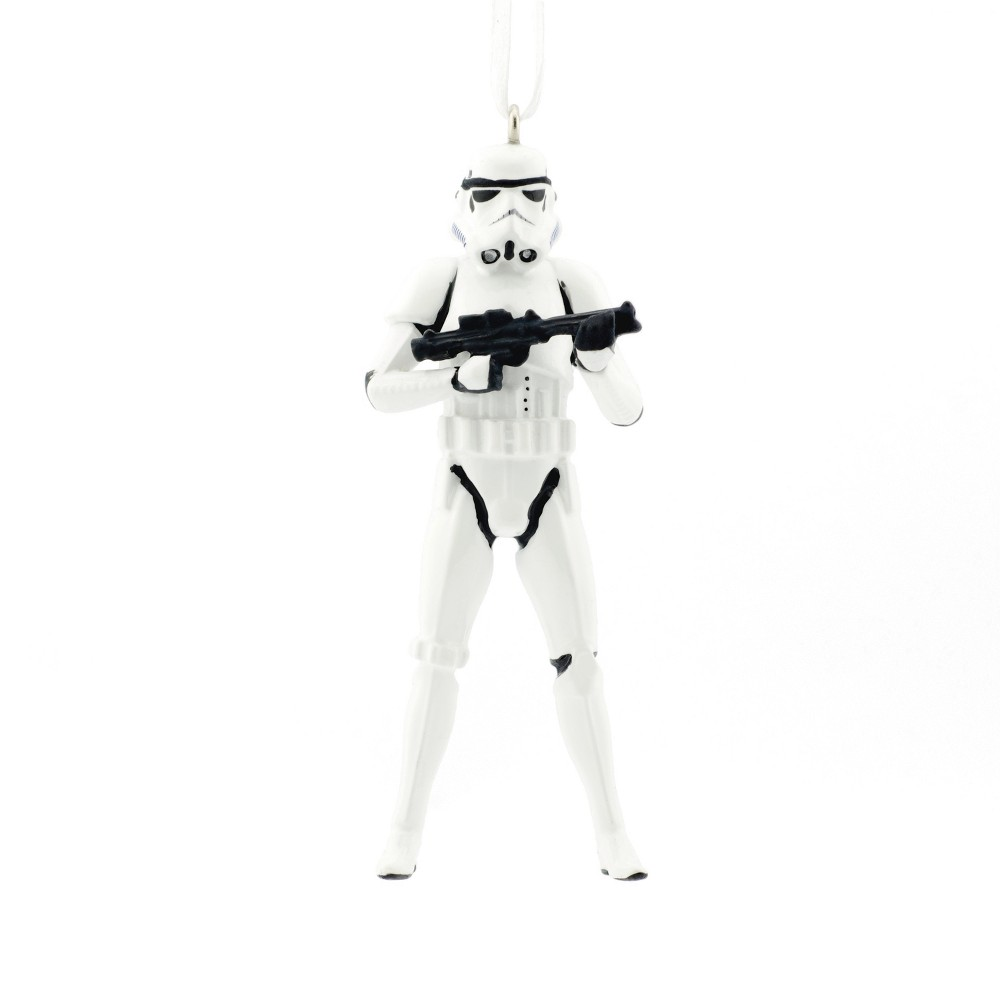 Image of Hallmark Star Wars Stormtrooper Christmas Ornament, Multi-Colored