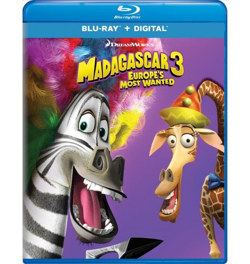 Madagascar 3:Europe's Most Wanted (Blu-ray) - image 1 of 1