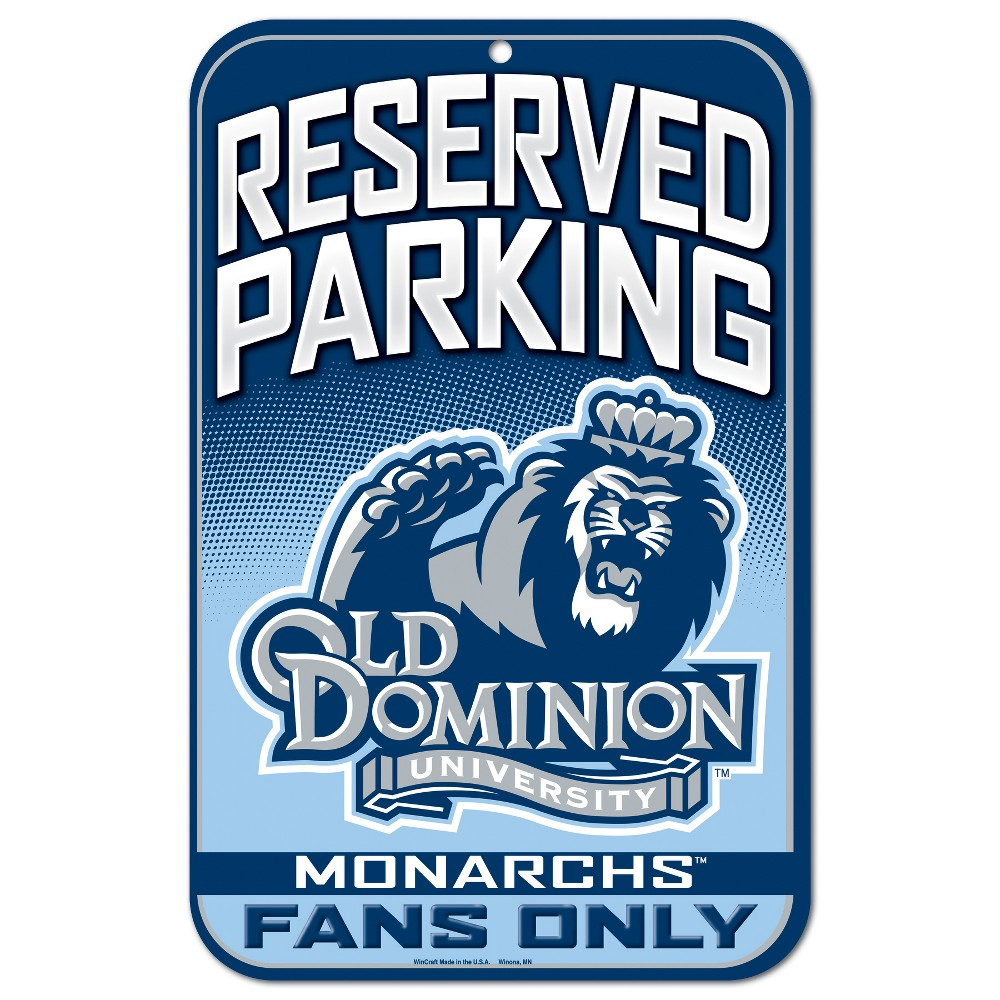 NCAA Old Dominion Monarchs Fence Wall Sign