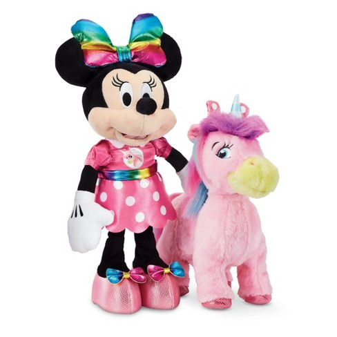 Disney Minnie Mouse Dance With Me Pony Plush Target