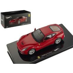 Ferrari F12 Berlinetta Red Elite Edition 1/43 Diecast Model Car by Hotwheels