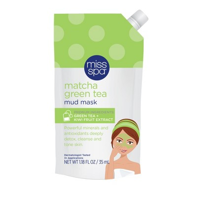 Miss Spa Matcha Green Tea Mud Mask - 1ct/1.18 fl oz