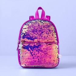 Girls' Flip Sequin Mini Backpack - More Than Magic™ Purple