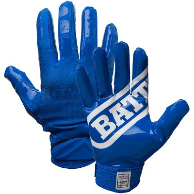 Battle Sports Science DoubleThreat UltraTack Football Gloves