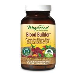 MegaFood Blood Builder Vegan Tablets - 30ct