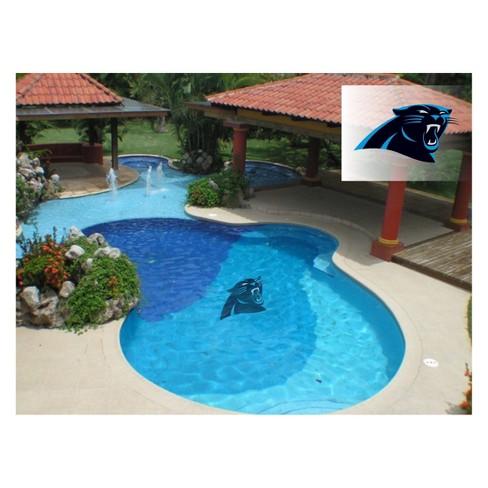 NFL Carolina Panthers Large Pool Decal - image 1 of 1