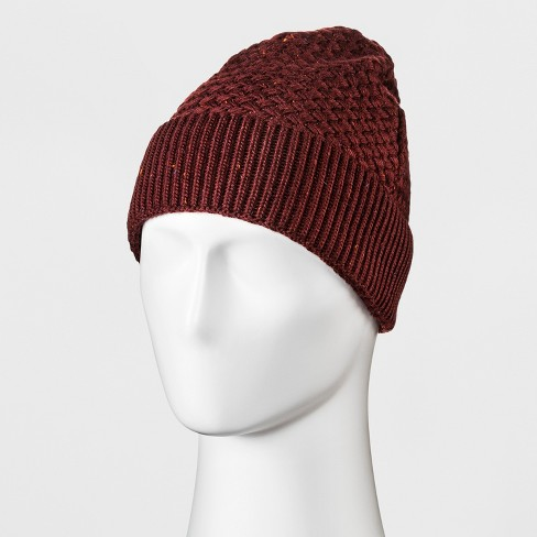 9514a6803c3 Men s Basket Weave Cuff Beanie - Goodfellow   Co™ One Size   Target