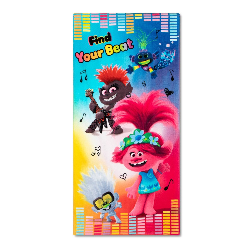 Image of Trolls Beach Towels, beach towels