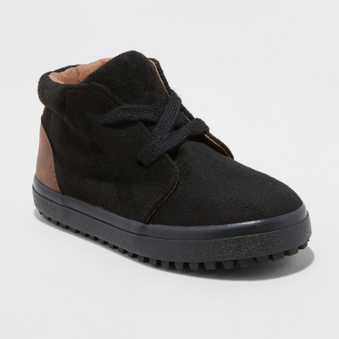 Toddler Boys' Axel Casual Fashion Boots - Cat & Jack™ Black - image 1 of 3