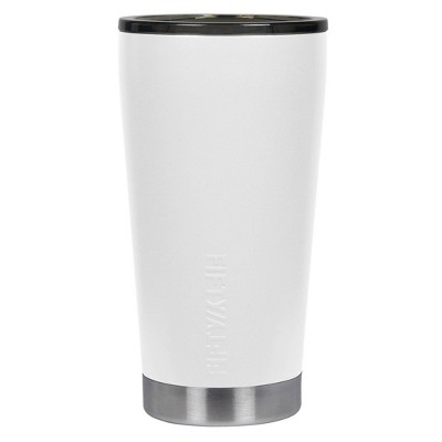 FIFTY/FIFTY 16oz Stainless Steel Vacuum Insulated Tumbler Winter White