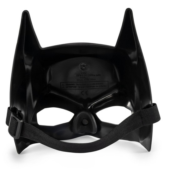 Batman Classic Mask and Cape Set, Black image number null