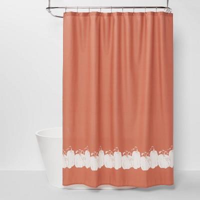 Pumpkin Shower Curtain - Threshold™